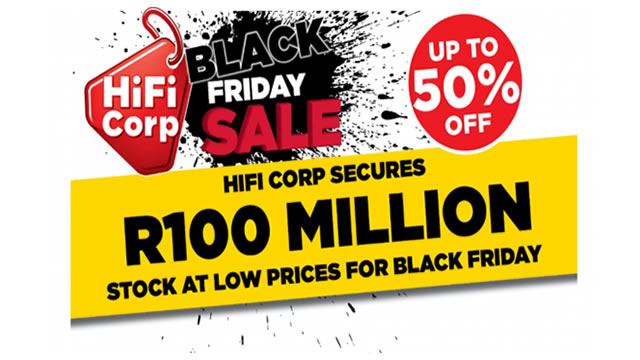 Hi Fi Corp Is Ready For The This Years Black Friday Www