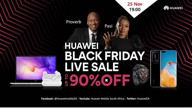 Huawei Launches More Black Friday 2020 Deals Www Guzzle Co Za