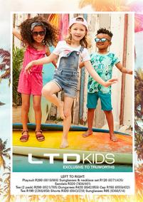Truworths : LTD Kids (17 Jan - 28 Feb 2018), page 1