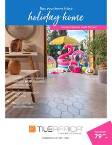 Tile Africa : Summer Specials (24 Oct - 23 Dec 2018), page 1
