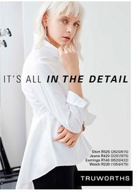 Truworths : It's All In The Detail (04 Aug - 31 Aug 2017), page 1