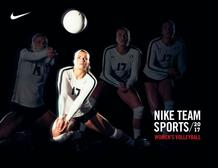 Nike : Team Sports Volleyball (06 Jul - 06 Oct 2017), page 1
