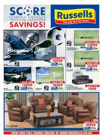 Russells : Score With Huge Savings (18 Jun - 15 Jul 2018), page 1