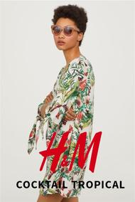H&M : Cocktail Tropical (24 Jul - 23 Sep 2018), page 1