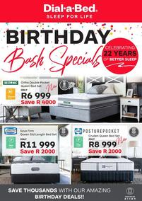 Dial-A-Bed : Birthday Bash Specials (02 Oct - 31 Oct 2018), page 1