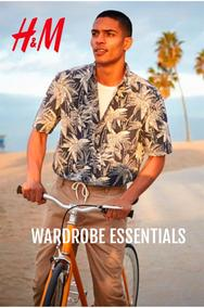 H&M : Wardrobe Essentials (11 Apr - 06 May 2018), page 1
