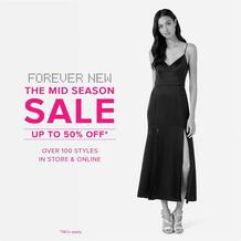 Forever New : Sale (14 Sep - 16 Oct 2017), page 1