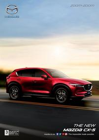 Mazda : The New Mazda CX-5 (18 May - 31 Dec 2018), page 1