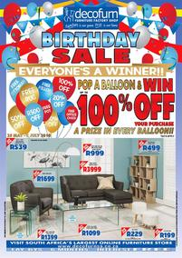 Decofurn : Birthday Sale (04 Jun - While Stock Last), page 1