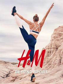 H&M : Beyond Sport Woman (13 Jul - 29 Sep 2017), page 1