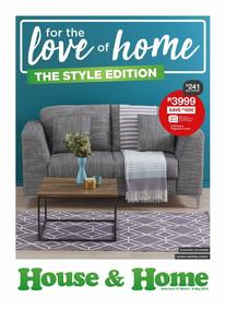 House & Home : The Style Edition (27 Mar - 06 May 2018), page 1