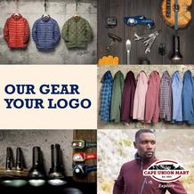 Cape Union Mart : Our Gear Your Logo (15 Oct - 31 Dec 2018), page 1