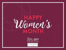 Sterns : Hppy Women's Month (20 Aug - 31 Aug 2018), page 1