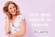 Milady's : Mix And Match In Mauve (03 Oct - 04 Nov 2018), page 1