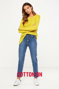 Cotton On : Women's Jeans (29 Mar - 06 May 2018), page 1