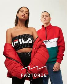 Factorie : Men's And Women's (30 Jul - 31 Aug 2018), page 1