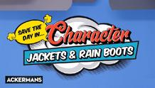 Ackermans : Jackets And Rain Boots (04 Mar - 07 Apr 2019), page 1