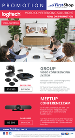First Shop : Logitech Promotion (31 Jan - 28 Feb 2018), page 1