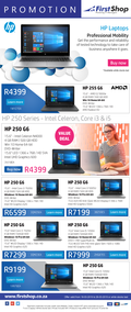 First Shop : HP Laptops (18 Mar - 26 Mar 2019), page 1