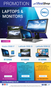 First Shop : Dell Laptops & Monitors (21 May - 28 May 2019), page 1