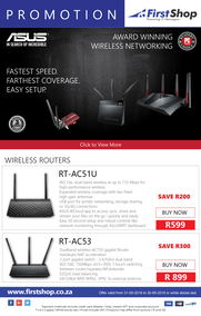 First Shop : ASUS Promotion (31 May - 30 June 2018), page 1