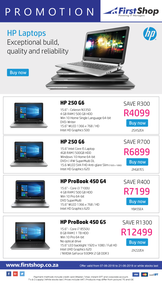 First Shop : HP Laptop Promotion (7 June - 21 June 2018), page 1