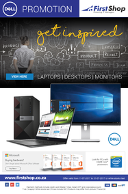 First Shop : Dell Get Inspired (11 July -  31 July 2017), page 1