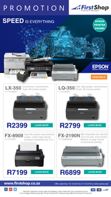 First Shop : Epson Printers (16 Oct - 31 Oct 2018), page 1