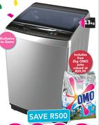 Sinotec 13Kg Silver Top Load Washing Machine