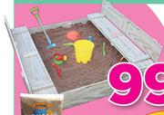 BounceKing Wooden Sandpit