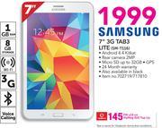 """Samsung 7"""" 3G Tab3 LITE SM-T116"""