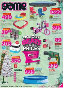Game : Nobody Beats Our Prices (23 Nov - 5 Dec 2016), page 1