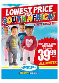 Pep : Lowest Price (03 Mar - 23 Mar 2017), page 1