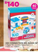 Kid 40 Piece Connection Big Block Set