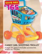 Candy Girl Shopping Trolley