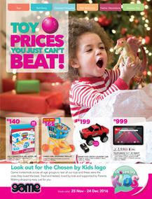 Game : Toy Prices You Just Can't Beat (25 Nov - 24 Dec 2016), page 1