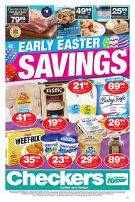 Checkers Western Cape : Early Easter Savings (22 Mar - 02 Apr 2017), page 1