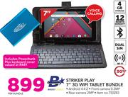 "Boost Striker Play 7"" 3G WiFi Tablet Bundle-Per Bundle"