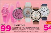 Digitime Assorted Fashion Watches-Each