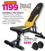 Everlast Dumbbell Pro Bench