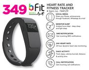 Fit Heart Rate And Fitness Tracker