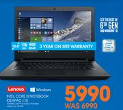 Lenovo Intel Core i3 Notebook IDEAPAD 110