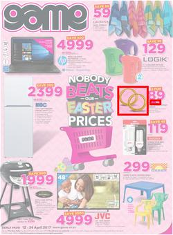 Game : Nobody Beats Our Easter Prices (12 Apr - 24 Apr 2017), page 1