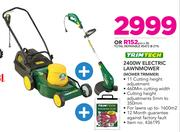 Trimtech 2400W Electric Lawnmower MOWER TRIMMER
