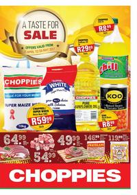 Choppies : Sale (21 Apr - 04 May 2017), page 1
