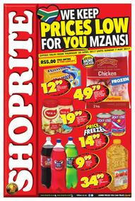 Shoprite : Prices Low (20 Apr - 07 May 2017), page 1