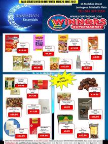 Winners Cash & Carry (10 May - 26 Jun 2017), page 1