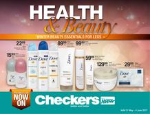 Checkers KZN : Health & Beauty (21 May - 04 Jun 2017), page 1