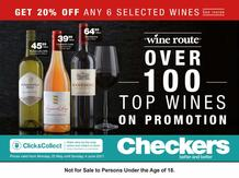 Checkers : Top Wines (22 May - 04 Jun 2017), page 1