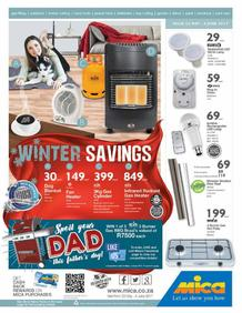 Mica National : Winter Savings (23 May - 04 Jun 2017), page 1